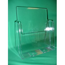 Clear Countertop Brochure Holder for 8.5x11 Literature