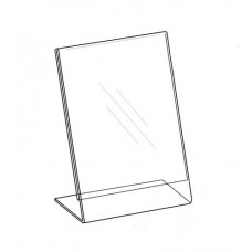 Sign Holder 8.5x11, Easel Style, Vertical