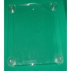 Sign Holder with Suction Cups, Vertical, Big