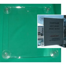 Sign Holder with Suction Cups, Vertical, Regular