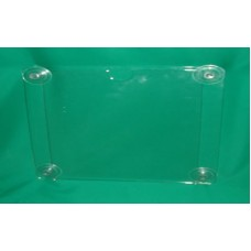 Sign Holder with Suction Cups, Horizontal, Small