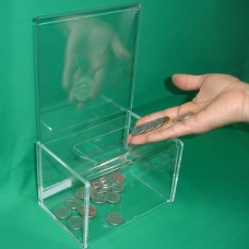 Donation Box with Flapping Opening