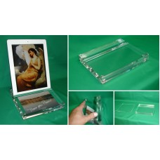 iPad Stand with a Picture Holder